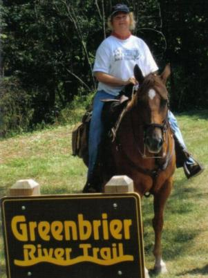 The Greenbrier River Trail, a great place for adventure