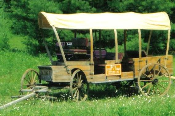A fine example of a working wagon