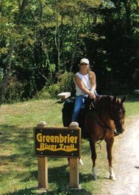 The Greenbrier River Trail, a great place to meet people